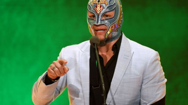 11/05/2020, Rey Mysterio, WWE, Luchador, Lesión