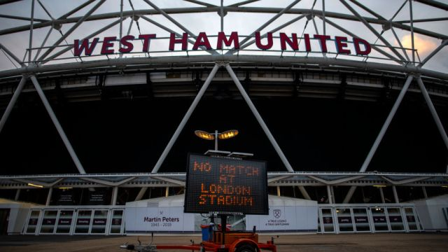 14/03/2020, West Ham, Estadio, Premier League, Coronavirus