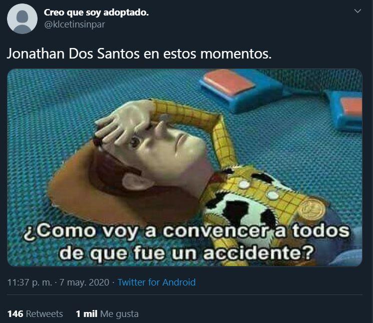 08/05/2020, Jonathan dos Santos protagoniza foto con Amanda Trivizas quien es muy parecida a Kyle Jenner