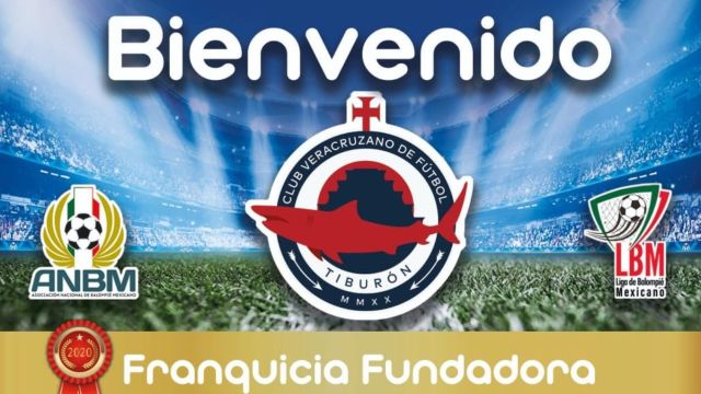 14/05/2020, Tiburón es el nuevo equipo de Veracruz en la LBM