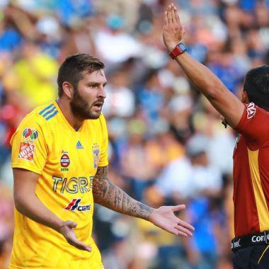 29/09/2018, Chiquimarco no hubiera dejado que Gignac le gritara durante un partido de Tigres como a otros árbitros