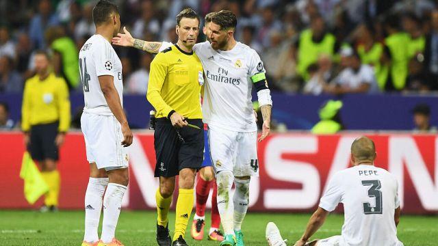 28/05/2016, Mark Clattenburg 'ayudó' al Real Madrid en la Final de la Champions del 2016 ante el Atlético de Madrid