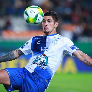 26/01/2019. Víctor Guzmán América Chivas Dopaje Los Pleyers, Víctor Guzmán en un juego con Pachuca.