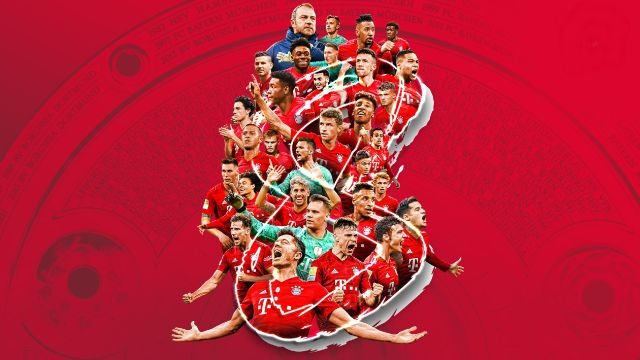 16-06-2020 Bayern Múnich gana su octava Bundesliga consecutiva