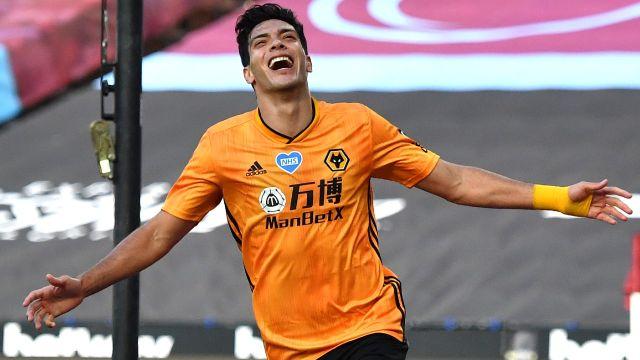 Gol de Raúl Jiménez en el Wolves vs Bournemouth 24/06/2020