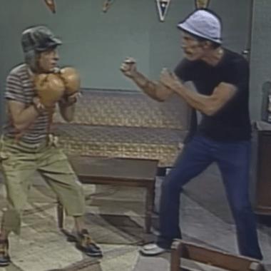 El día que Don Ramón enseñó a boxear al Chavo del 8 26/06/2020