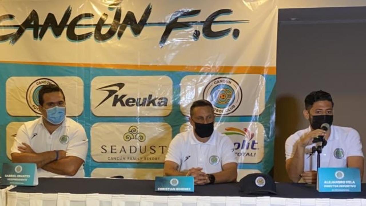 Alejandro Vela es el nuevo director deportivo del Cancún FC de la Liga de Expansión 22/07/2020