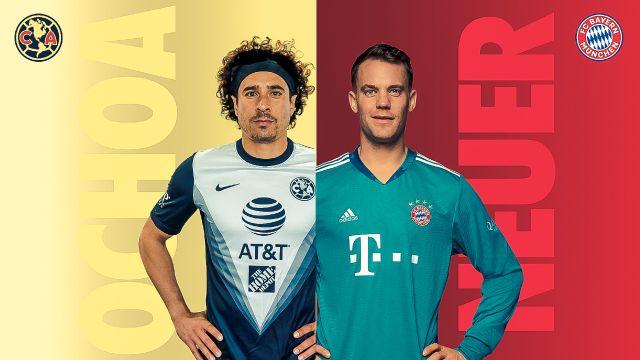 América presenta una entrevista entre Ochoa y Neuer 27/07/2020