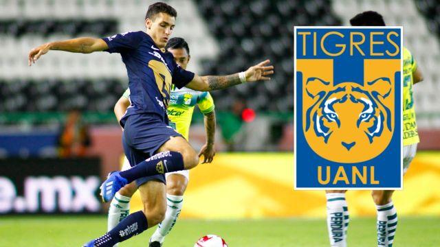 Tigres buscaría el fichaje de Juan Ignacio Dinenno de Pumas 09/07/2020