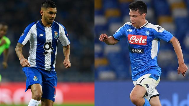 Así jugó Hirving Lozano con Napoli y la asistencia de Tecatito con el Porto 05/07/2020