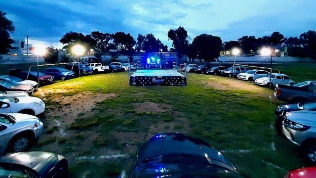 Policía procede a cancelar función de lucha libre 28/07/2020
