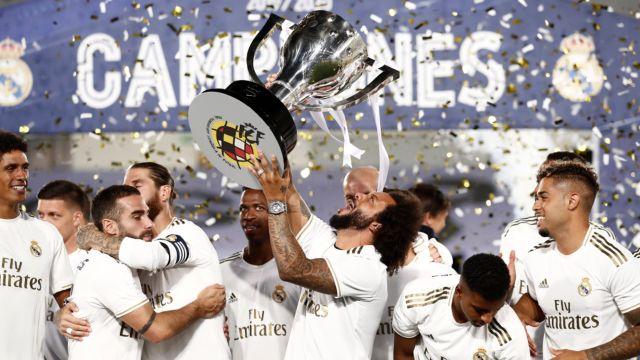 Mariano da positivo a coronavirus en el Real Madrid 28/07/2020