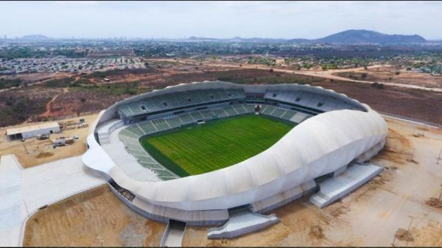 Bodega cercana al estadio del Mazatlán FC se incendia 03/07/2020