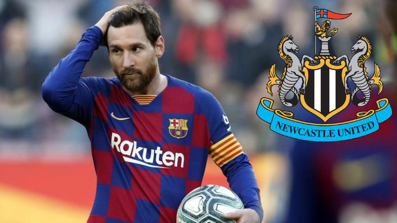 Newcastle iría por el fichaje de Lionel Messi del Barcelona 27/07/2020