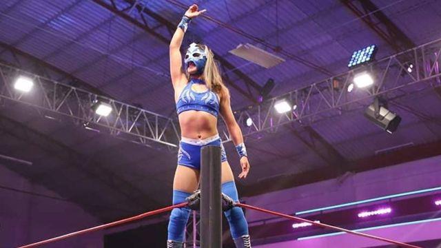 Amenaza de muerte en la lucha libre a la Princesa Azul 27/07/2020