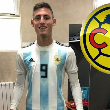 América va por Tomás Chancalay, del Colón de Argentina 07/07/2020