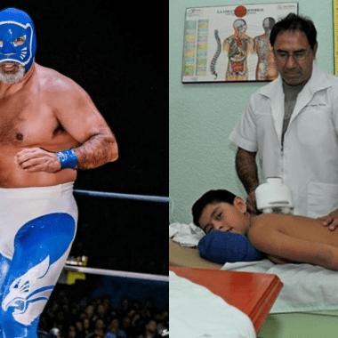 Blue Panther, el luchador que se dedicará a la acupuntura 29/07/2020
