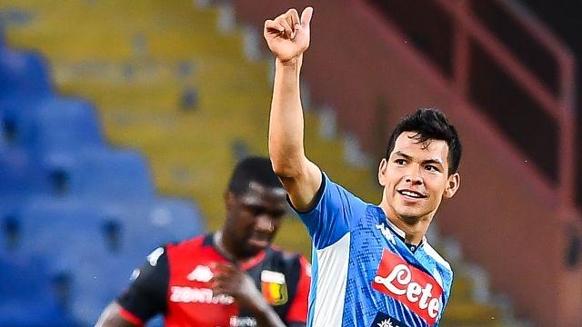 Napoli arruinó el valor económico del Chucky Lozano 13/07/2020
