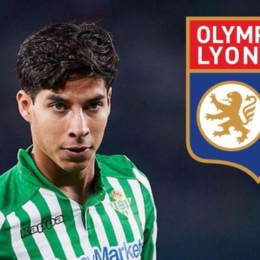 Oympique de Lyon quiere de refuerzo a Diego Lainez 16/07/2020