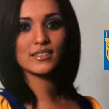Karla Luna comenzó su carrera como porrista de Tigres [Foto] 12/07/2020