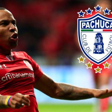 Felipe Pardo deja al Toluca, es nuevo jugador del Pachuca 06/07/2020