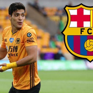 Barcelona quiere juntar a Raúl Jiménez con Messi