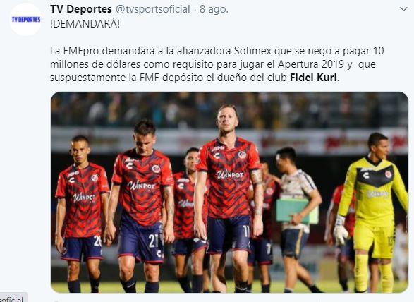 Demanda Veracruz Adeudo Jugadores Los Pleyers