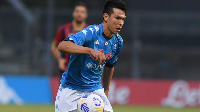 Chucky Lozano marca doblete en goleada del Napoli [VIDEO]