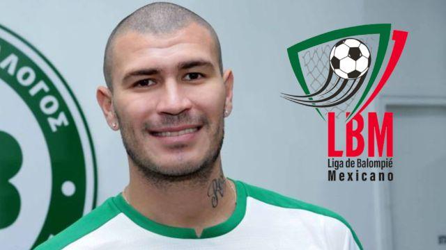 Chatón Enríquez llega a la la Liga de Balompie Mexicano como fichaje bomba del Club Veracruzano de Futbol Tiburón