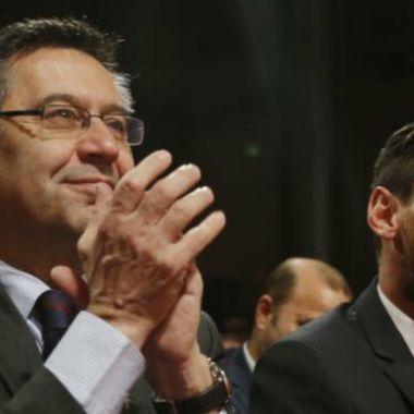 Bartomeu condiciona a Messi para renunciar al Barcelona