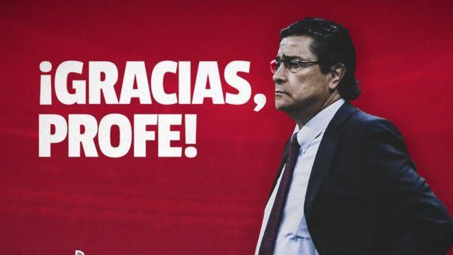 Chivas despide a Luis Fernando Tena como director técnico