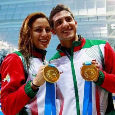 Paola Espinosa y Rommel son maestros de educación Física