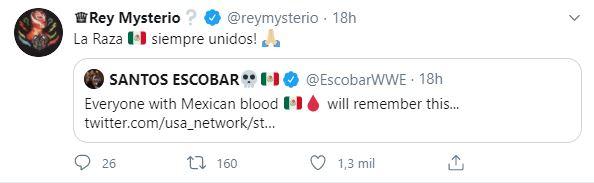 Tuit Rey Mysterio Los Pleyers