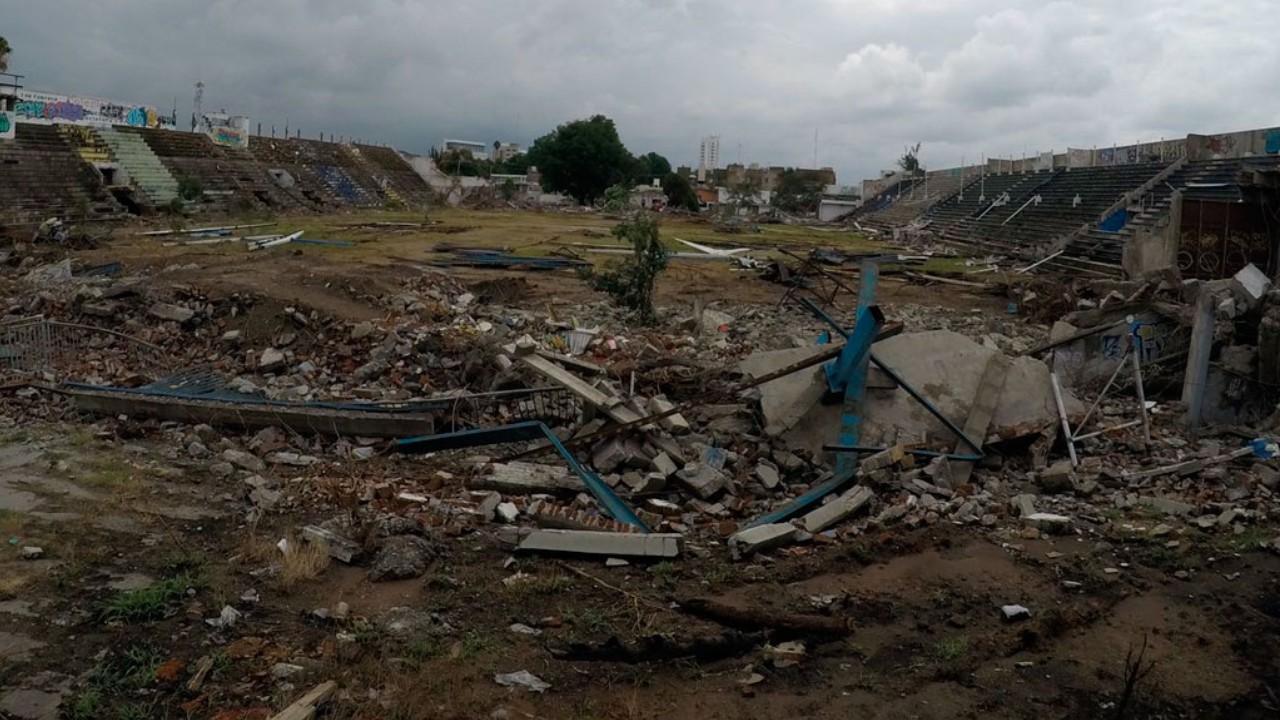 Los Estadios que fueron demolidos y estuvieron en la Liga BBVA MX