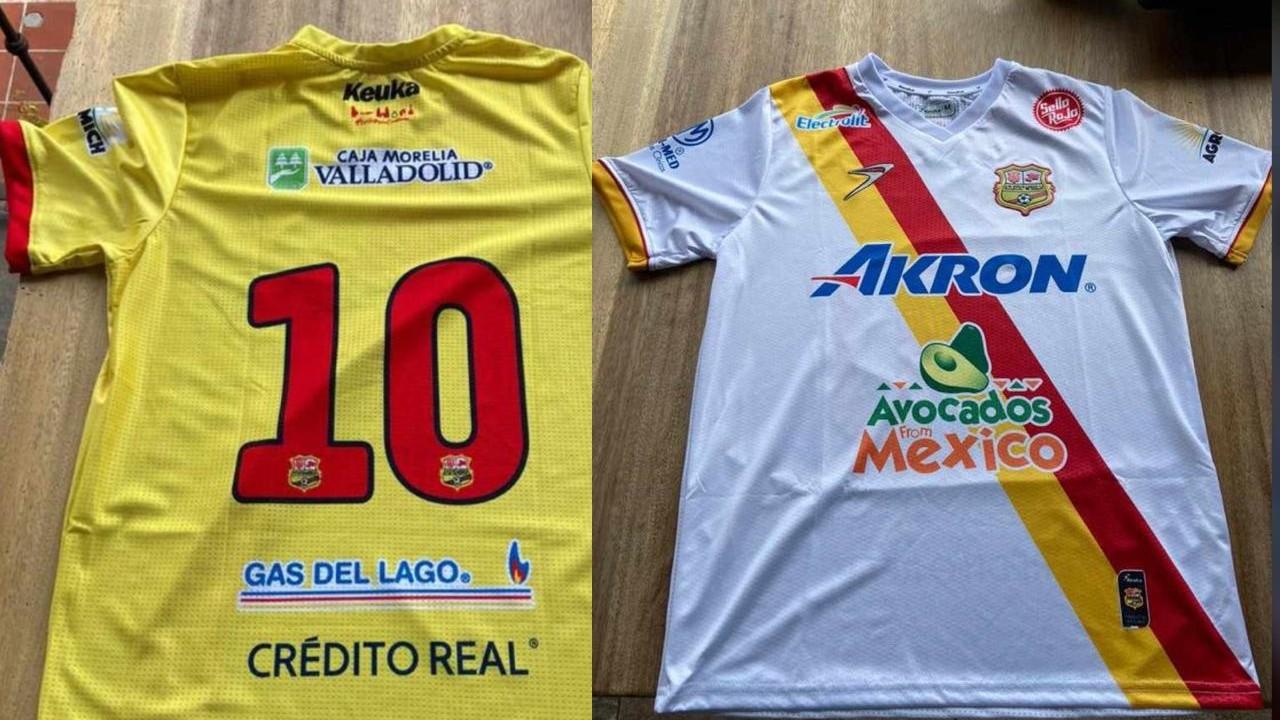 Atlético Morelia se luce con sus uniformes para la Liga de Expansión