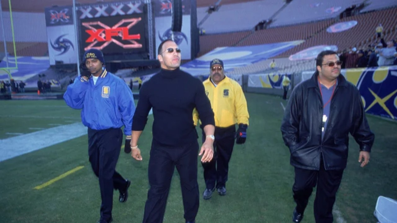 The Rock compra la XFL, una liga de futbol americano 03/08/2020