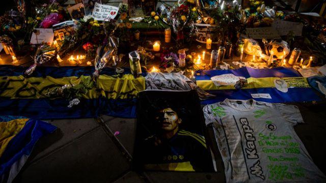 Diego Armando Maradona murió en el 2020