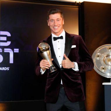 Robert Lewandowski ganador mejor jugador del año