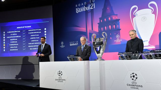 Sorteo de la UEFA Champions League octavos de final