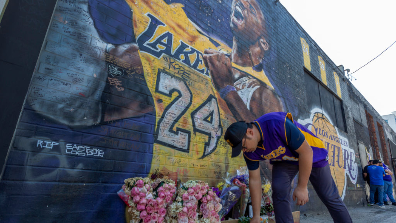 Kobe Bryant muerte que paralizó el 2020