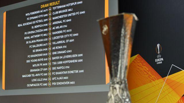 sorteo de los 16avos de final UEFA Europa League
