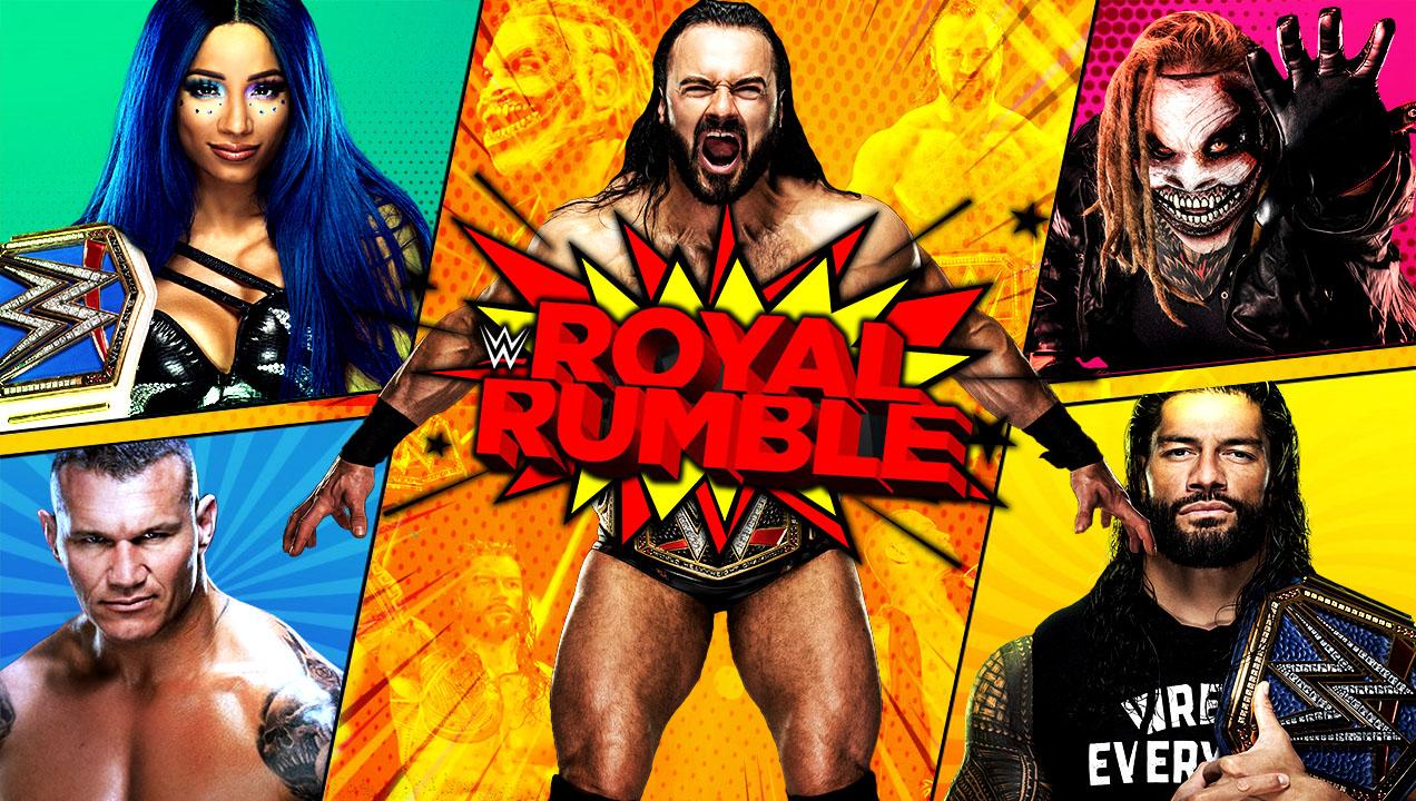 wwe royal rumble 2021 peleas donde y cuando ver