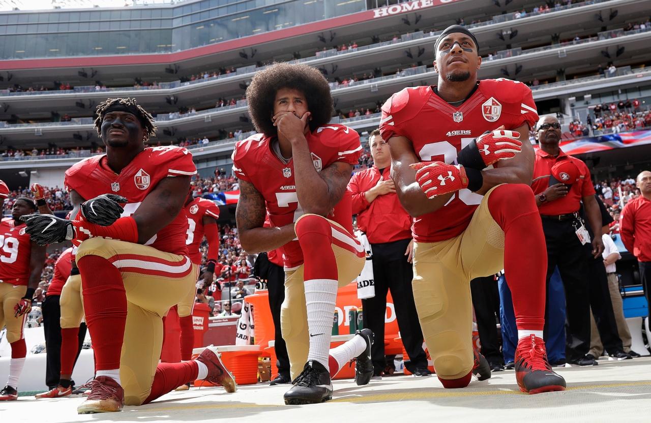 Colin Kaepernick y sus protestas