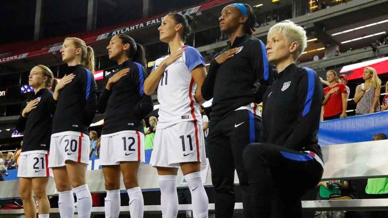 Megan Rapione y la selección de los Estados Unidos