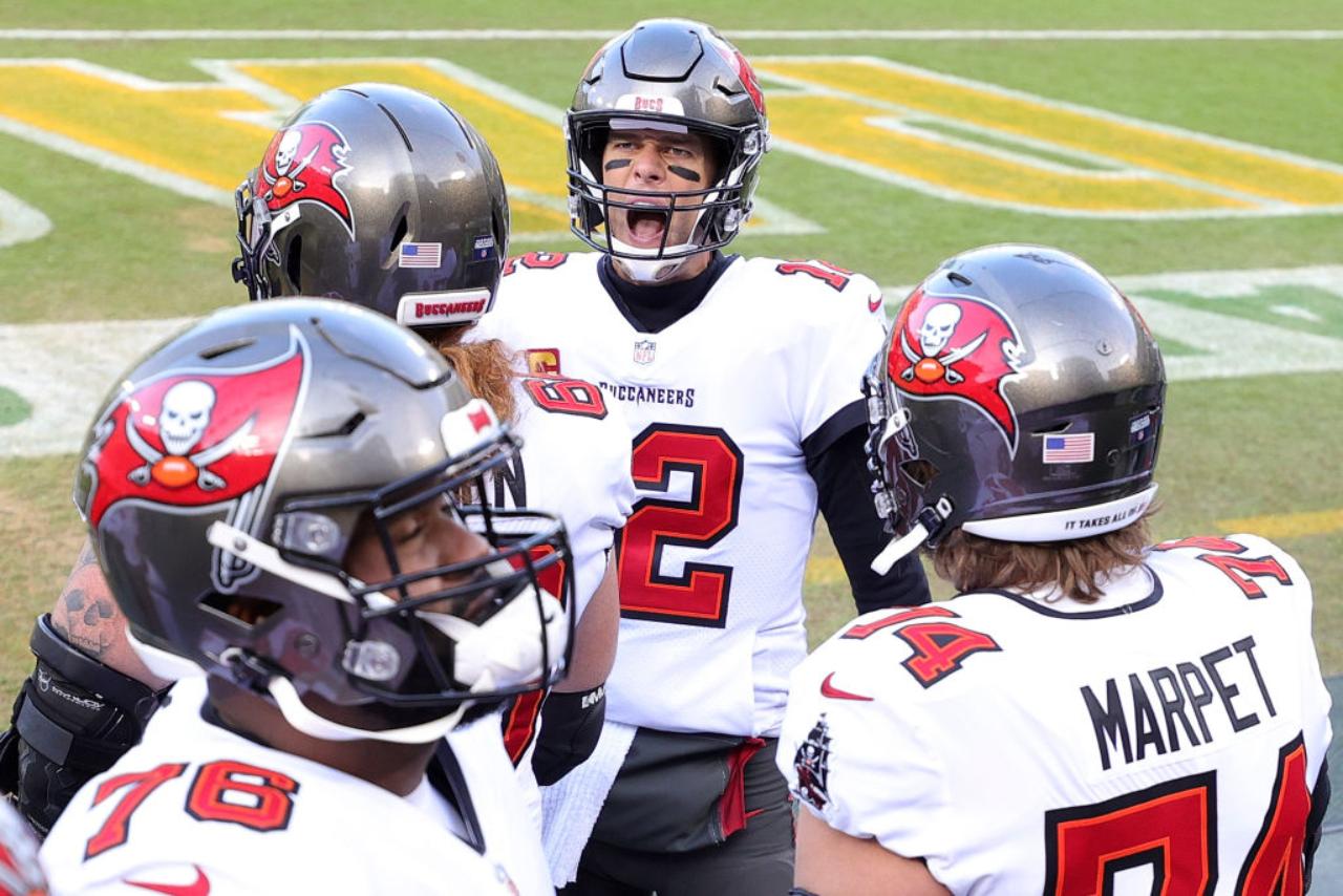 Tom Brady y buccaneers