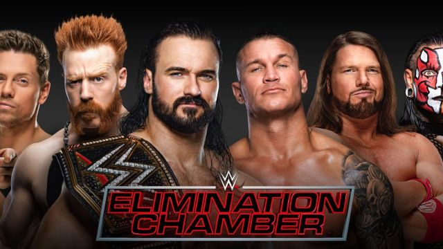 wwe elimination chamber 2021 wwe championship
