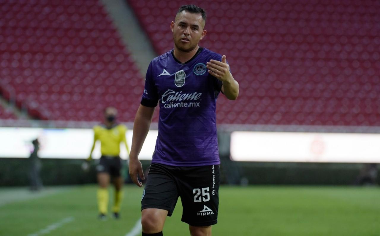 Israel Jiménez con Mazatlán FC