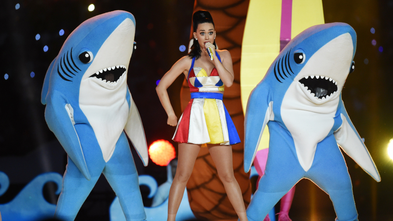 Katy Perry en el Super bowl