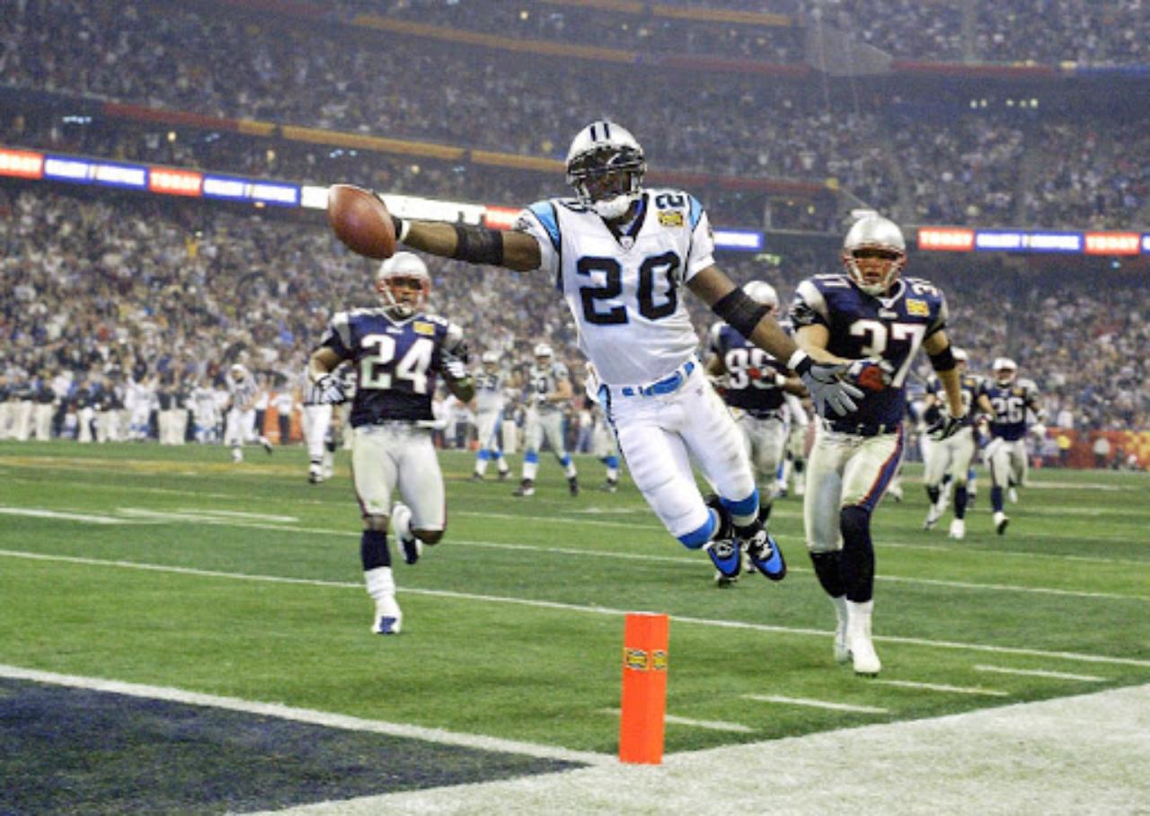 Panthers en el Super Bowl 38