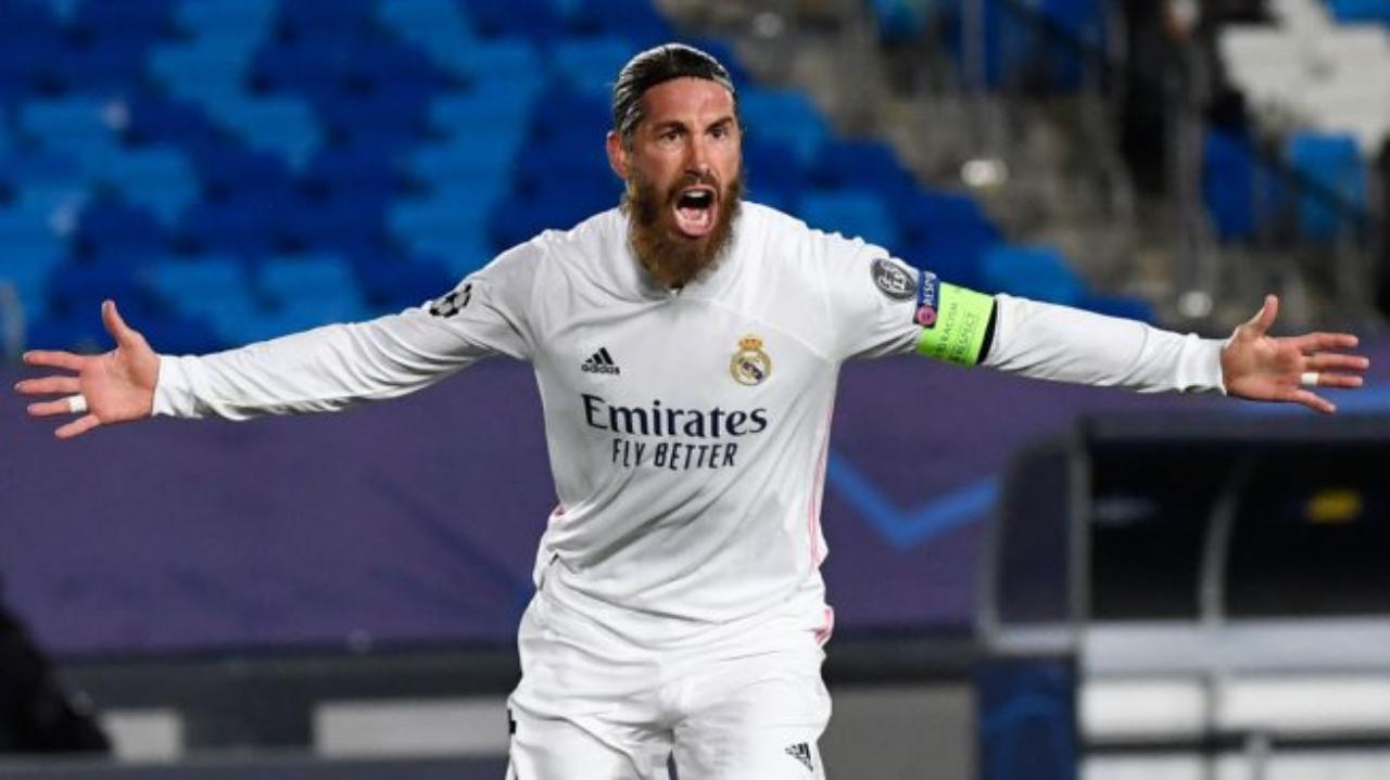 Sergio Ramos en la UEFA Champions League